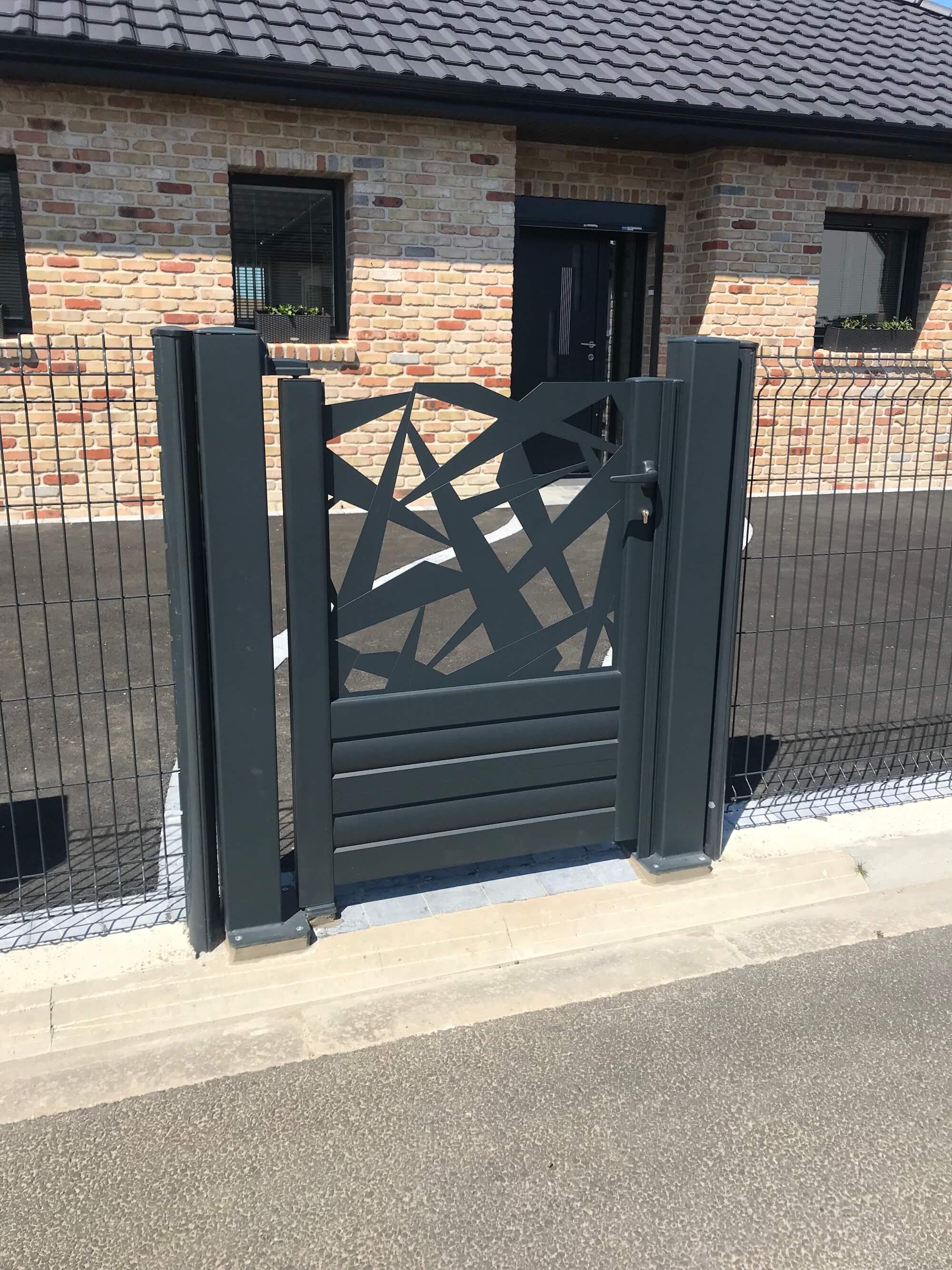 portail hazebrouck, portail aire sur la lys, portail merville, portail bethune, portail lille, portail sur mesure, portail aluminium, portail 62 8