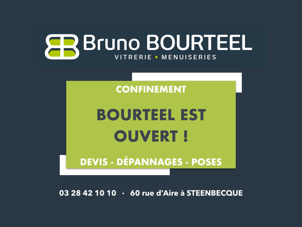 BOURTEEL RESTE OUVERT !
